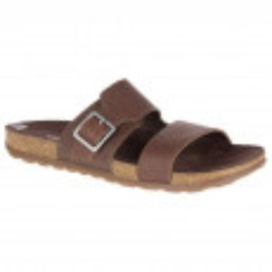 Merrell Around Town Luxe Buckle Slide Sandals sz10